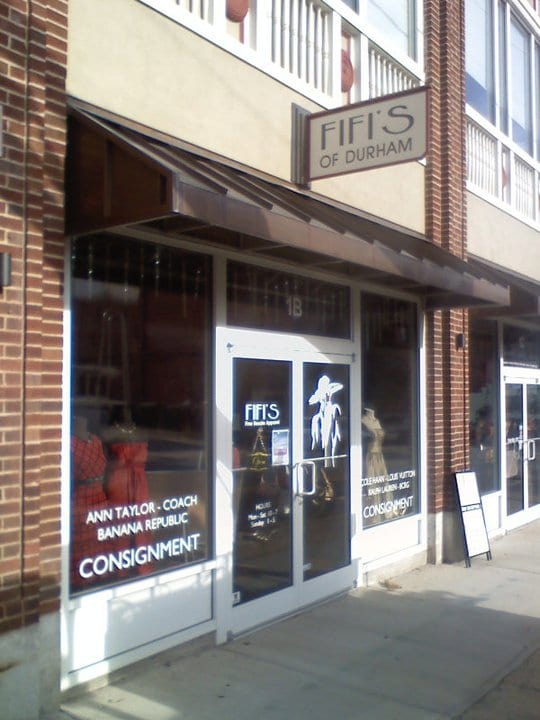 Picture of a Single color window graphic - Signs and Banners in Durham, NC